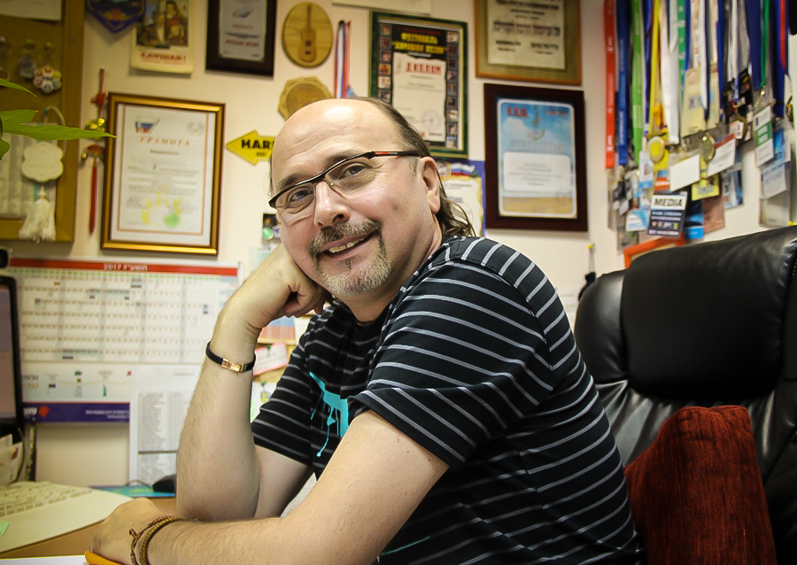 Интервью с главным редактором Первого радио 89,1 FM Владом Зерницким
