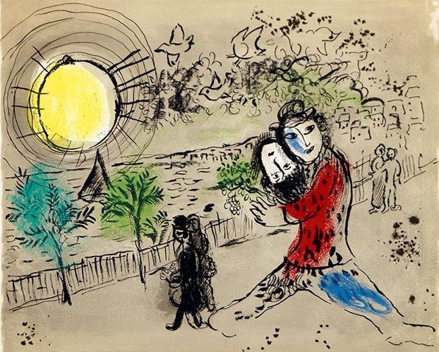 """""""Моя жизнь"""" – выставка работ Марка Шагала в Altmans Gallery в Тель-Авиве"""