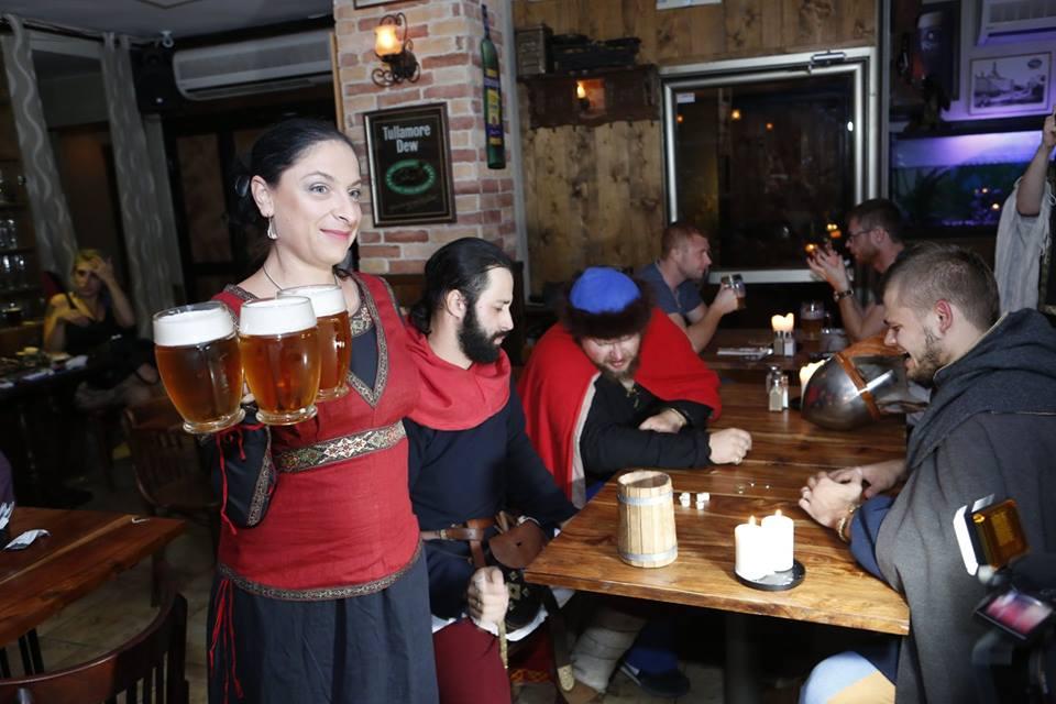 Не стандартный ресторанный подход в Малой Праге