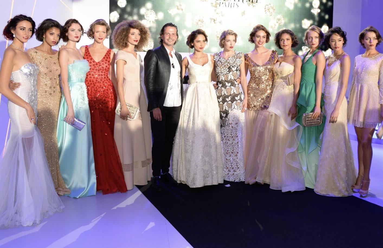 Израильский дизайнер и ювелир Гиль Нойхаус на неделе моды в Париже