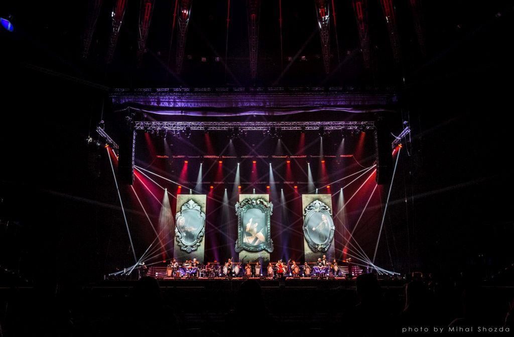 Волшебная иллюзия «Vivaldianno. Город зеркал» в Тель-Авиве!