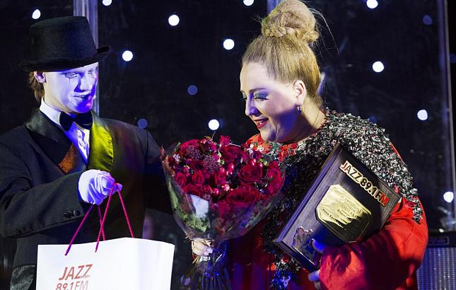 Грузинская певица Нино Катамадзе получила премию «Все цвета джаза»