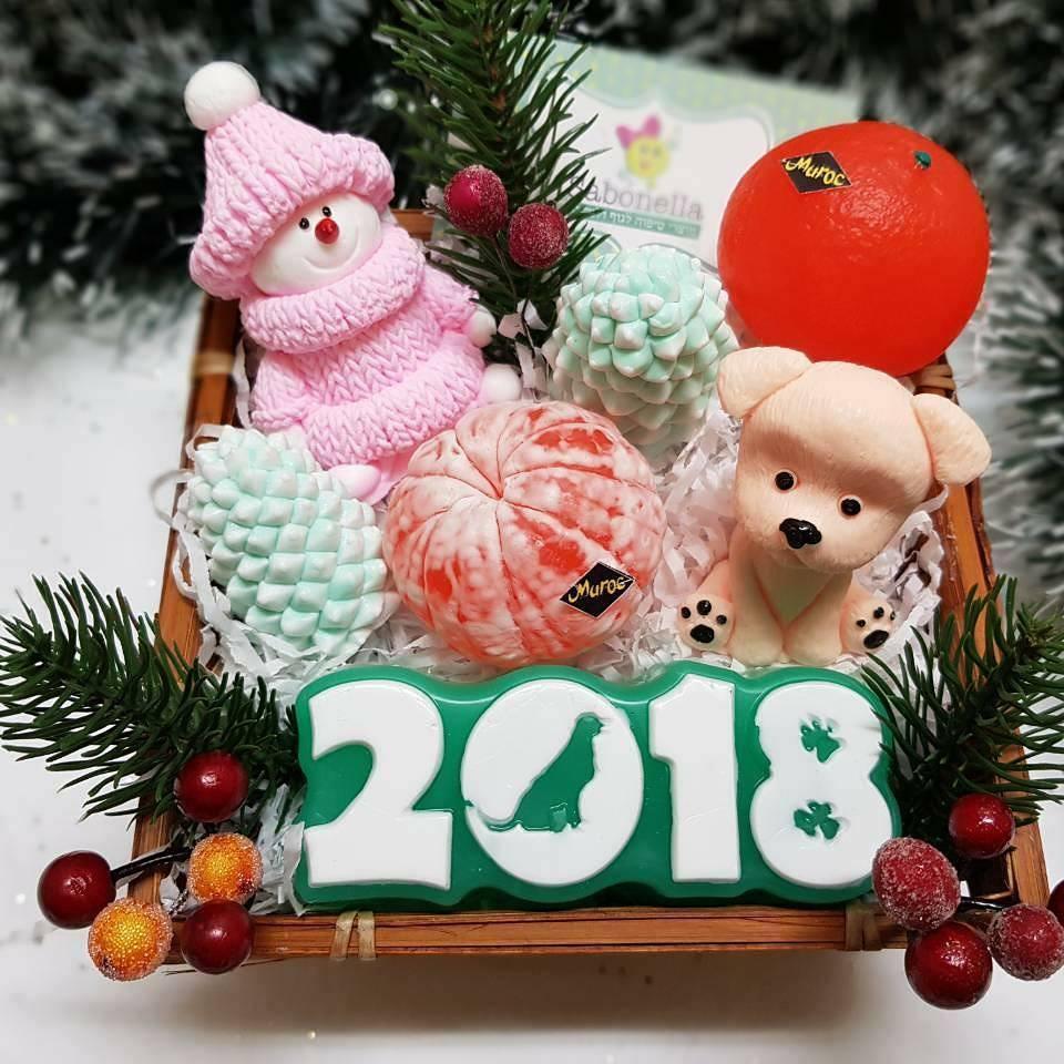 Нежные новогодние подарки от Sabonella