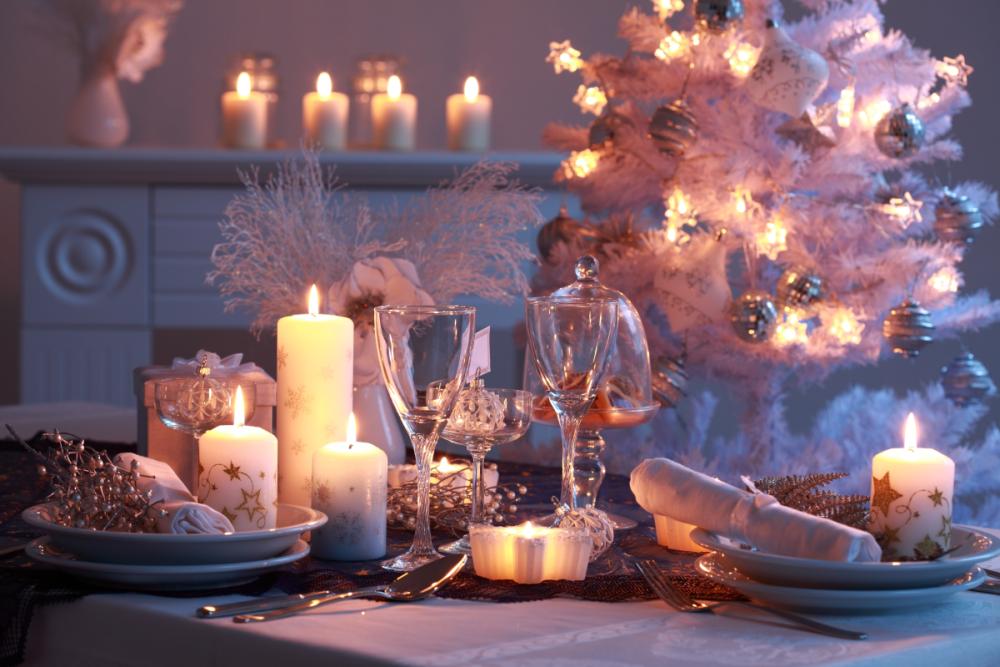 Накрываем новогодний стол