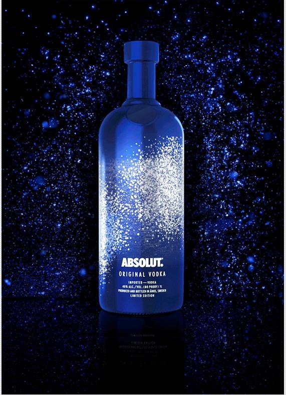 Звезды новогодней ночи от Absolut