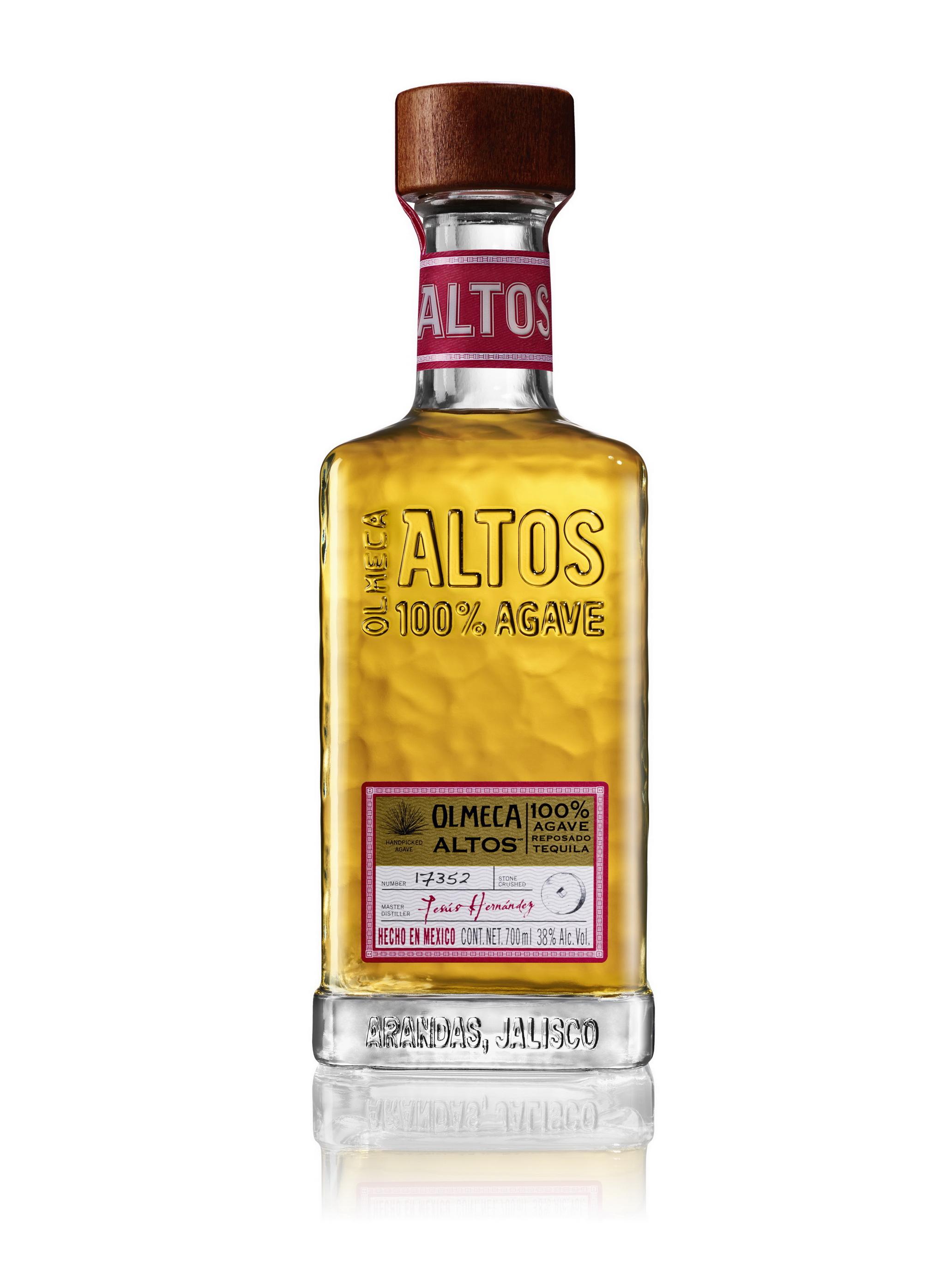 Olmeca Altos – текила супер-премиум класса из 100% агавы