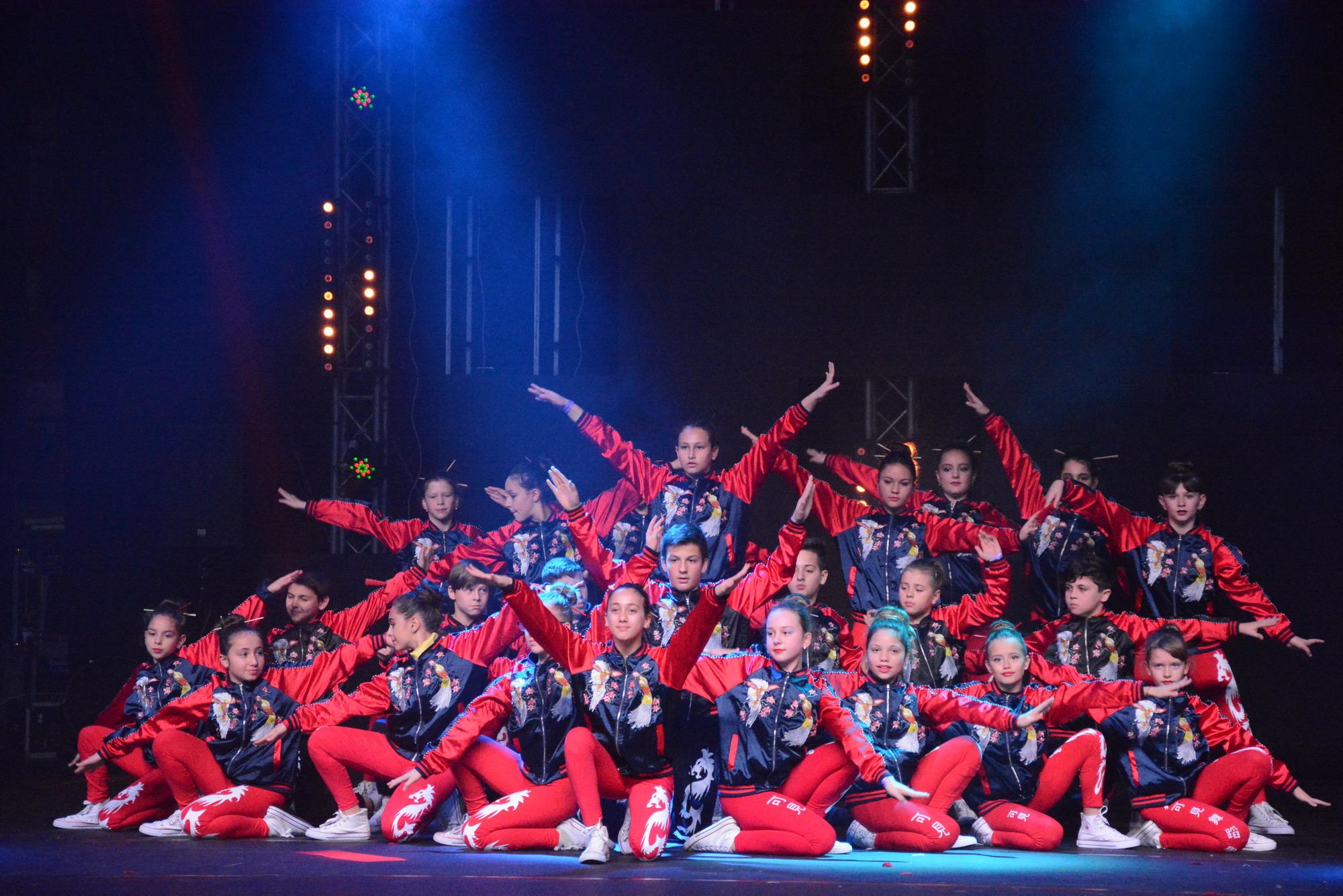 Чемпионы всеизраильского конкурса танцев «Гимнастрада 2018» в Тель-Авиве!