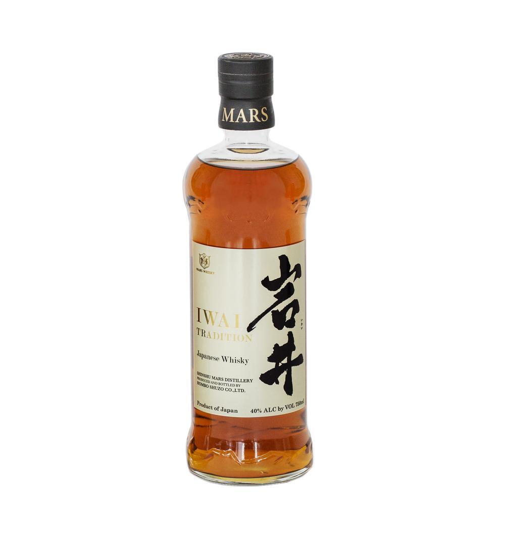 Впервые в Израиле – японский виски  IWAI Tradition