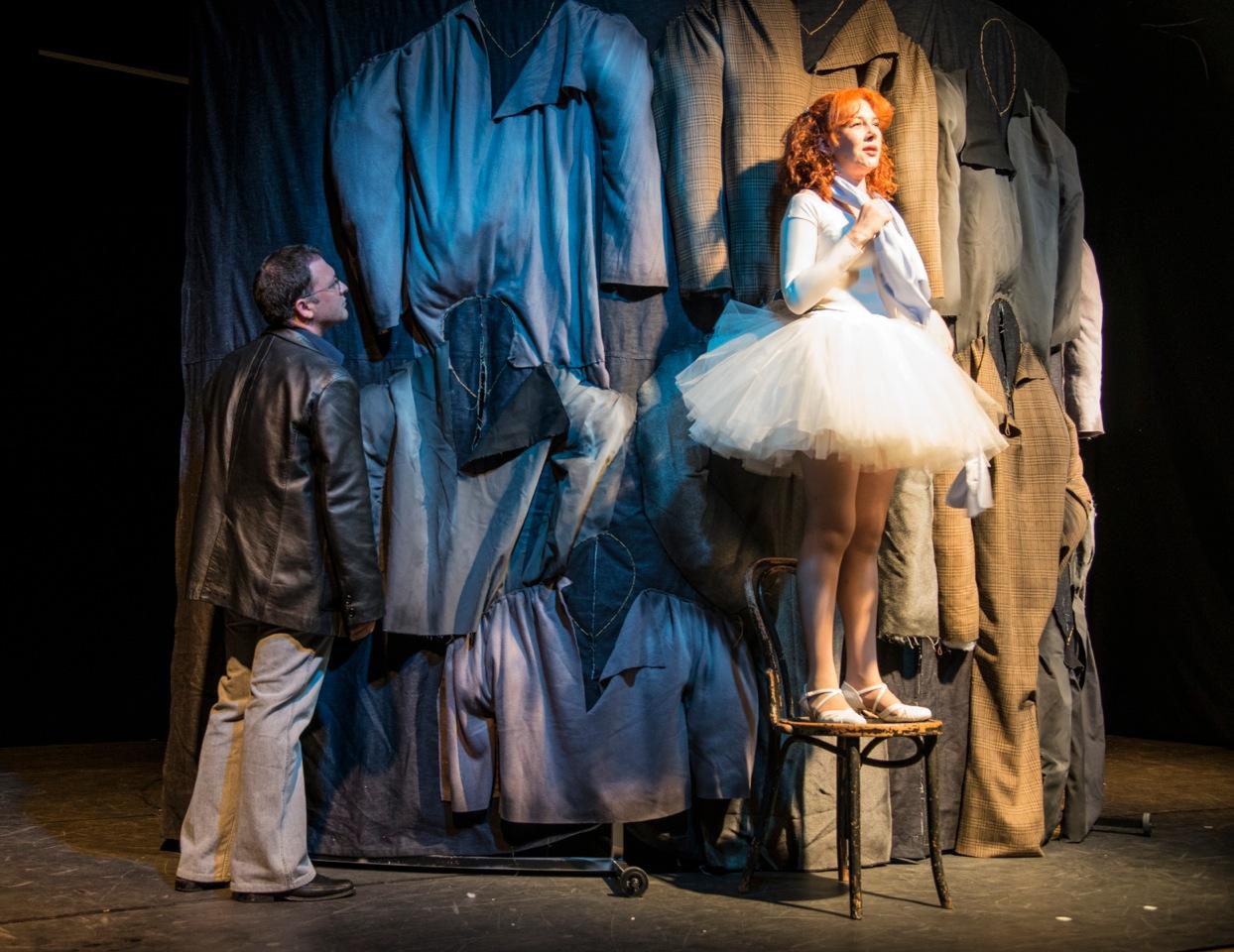 Юбилейный спектакль «Иностранка» театра «Маленький» на сцене центра «Сузан Далаль»  в Тель-Авиве 12 января