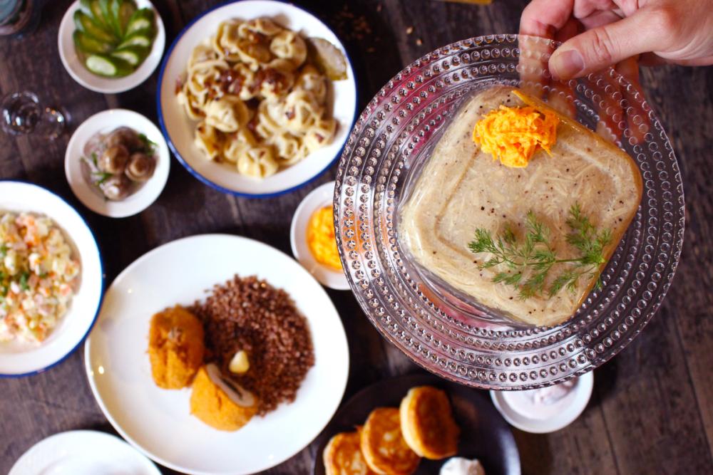 Культовые советские блюда в Porter&Sons – только в январе!