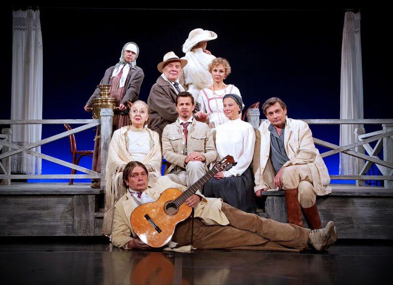 Театр Моссовета покажет в Израиле легендарные спектакли по Чехову
