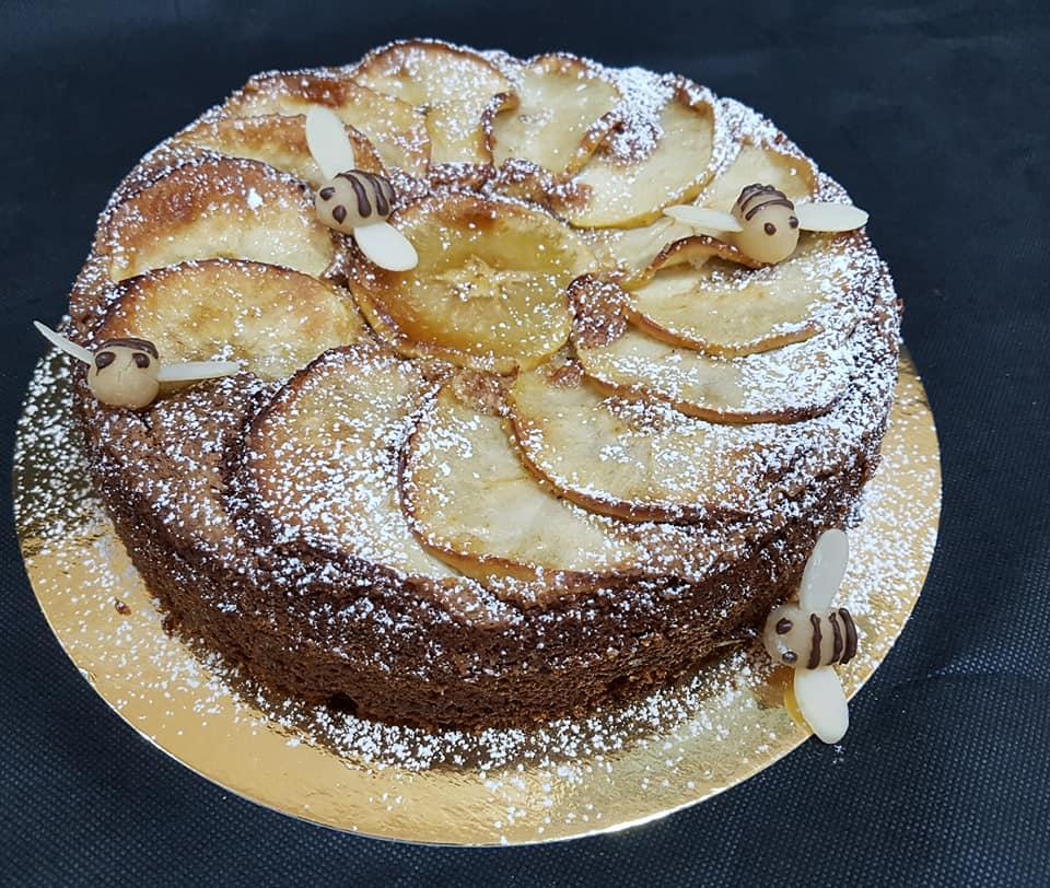 Пирог с яблоками от кондитера Ирис Гинзбург Хаят