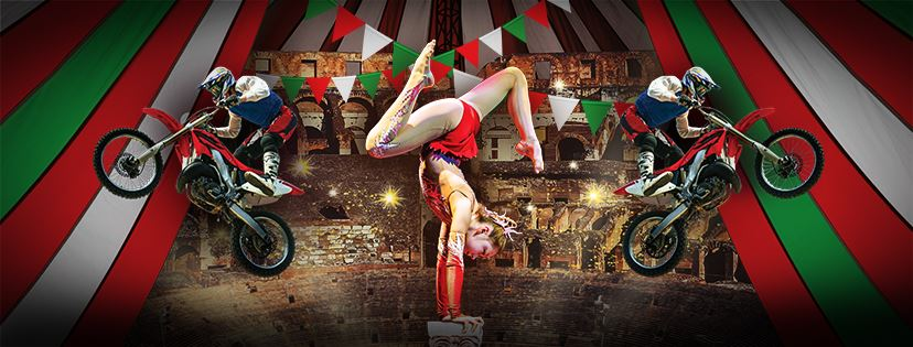 Цирк «Circo Roma» начинает выступления в Израиле. Хайфа и Тель-Авив, февраль – апрель 2018 года