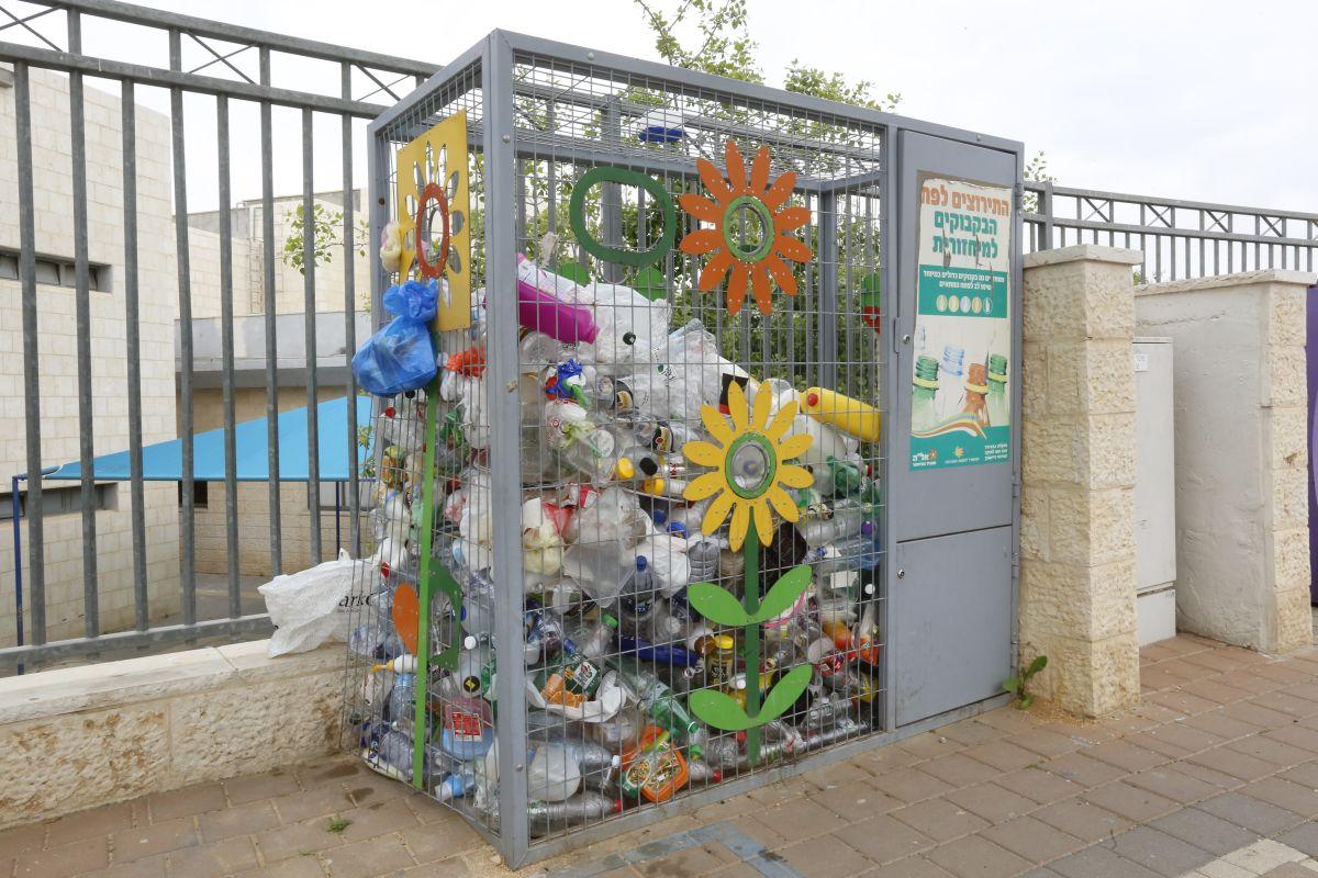 Израиль на первом месте по переработке пластиковых бутылок среди развитых стран