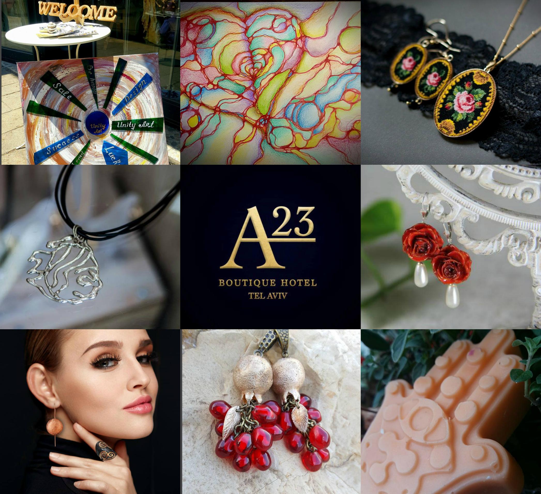 Дизайнерская пятница марта от Unity Art и A23 Boutique Hotel