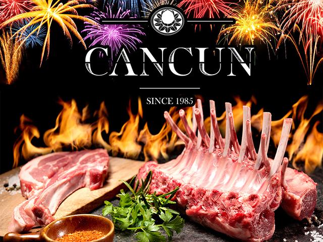 День независимости с Cancun: морские и мясные деликатесы с особыми скидками!