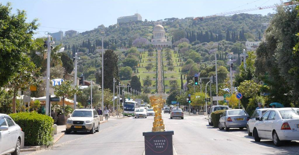 Хайфа принимает знаменитый гранд-тур «Джиро д'Италия»!