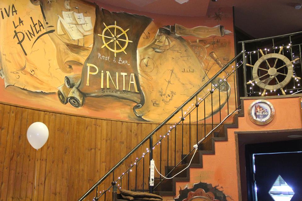 Трехлетие ресто-бара «Pinta» отметили специальным ивентом