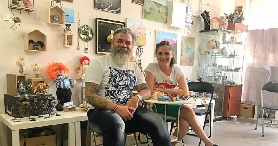 Интервью с основателем Khokhlov Family Art: о творчестве, любви к Израилю и поисках вдохновения