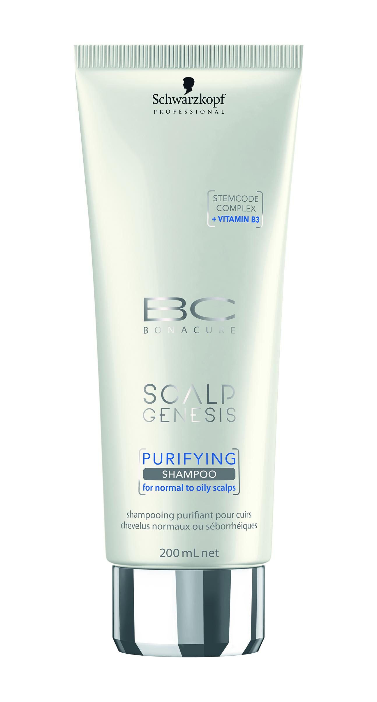 שוורצקופף פרופשיונל- שמפו לניקוי הקרקפת מסדרת סקאלפ ג'נסיס- BC Scalp Genesis Purifying Shampoo- 99שח ל200מל