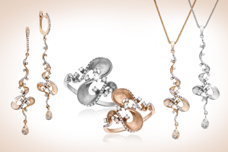 Летняя фантазия – новая серия украшений с бриллиантами