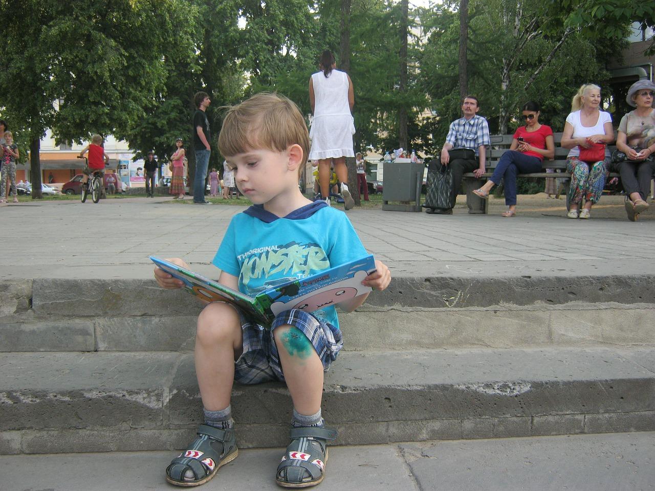 Лето с книжкой