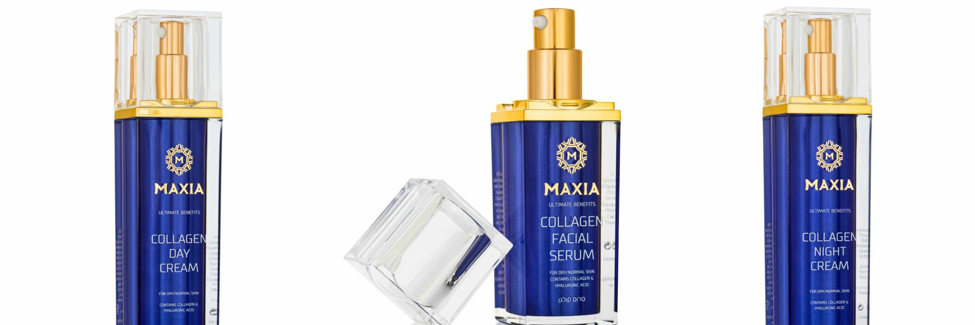 Коллагеновые продукты Maxia – действенная косметика омоложения