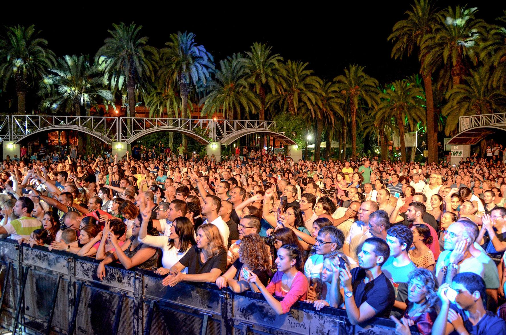Горячий музыкальный август с бесплатными концертами в Ришон ле-Ционе