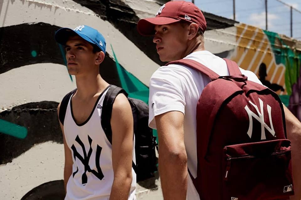 Teen-fashion в сумках и рюкзаках новой коллекции New Era