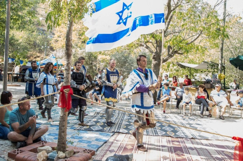 Рыцари Иерусалима versus Самураи — главный поединок года!
