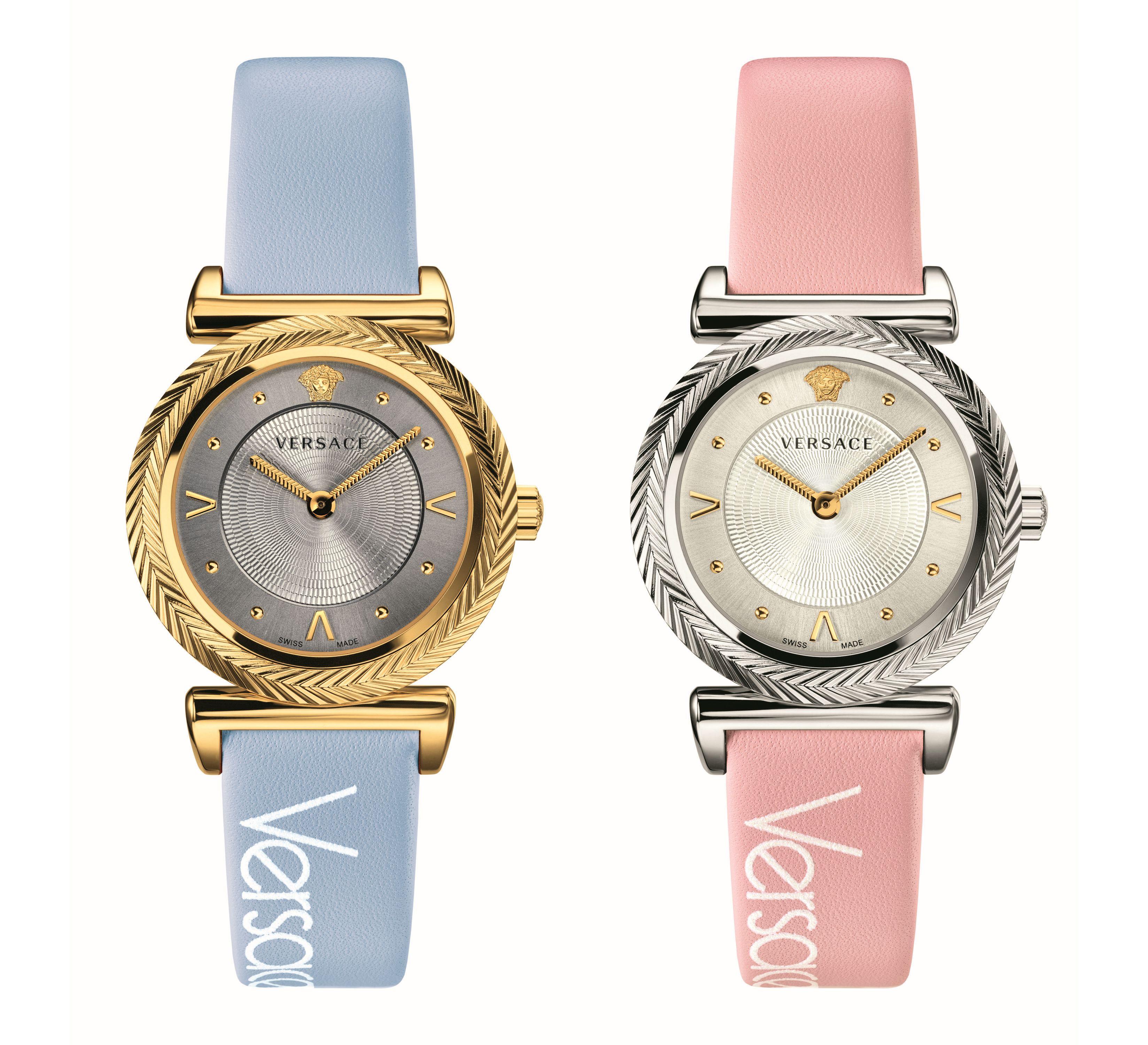 Новые часы Versace – винтаж в пастельных тонах