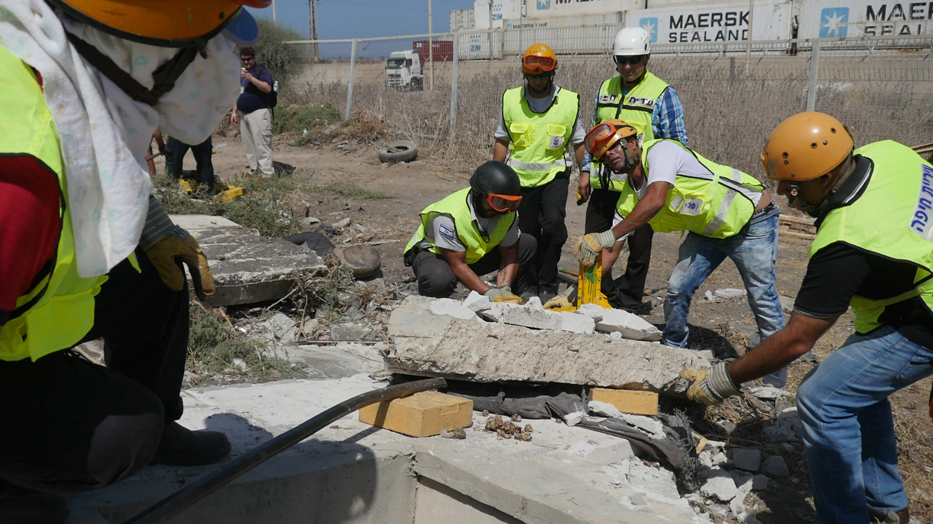 Хайфа создает команду спасателей-добровольцев