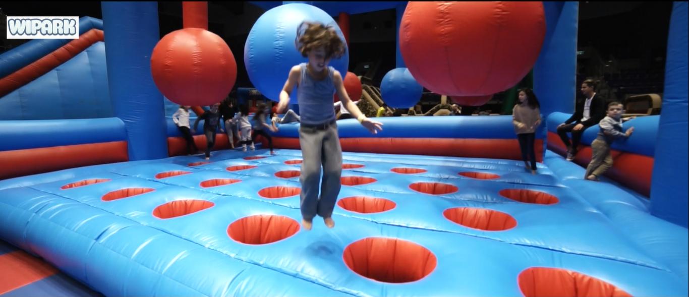 WiPark – парк батутов в августе в Тель-Авиве. Неделя прыгучего счастья