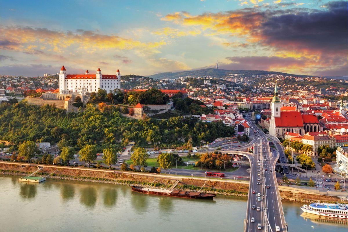 Золотая осень на берегах Дуная