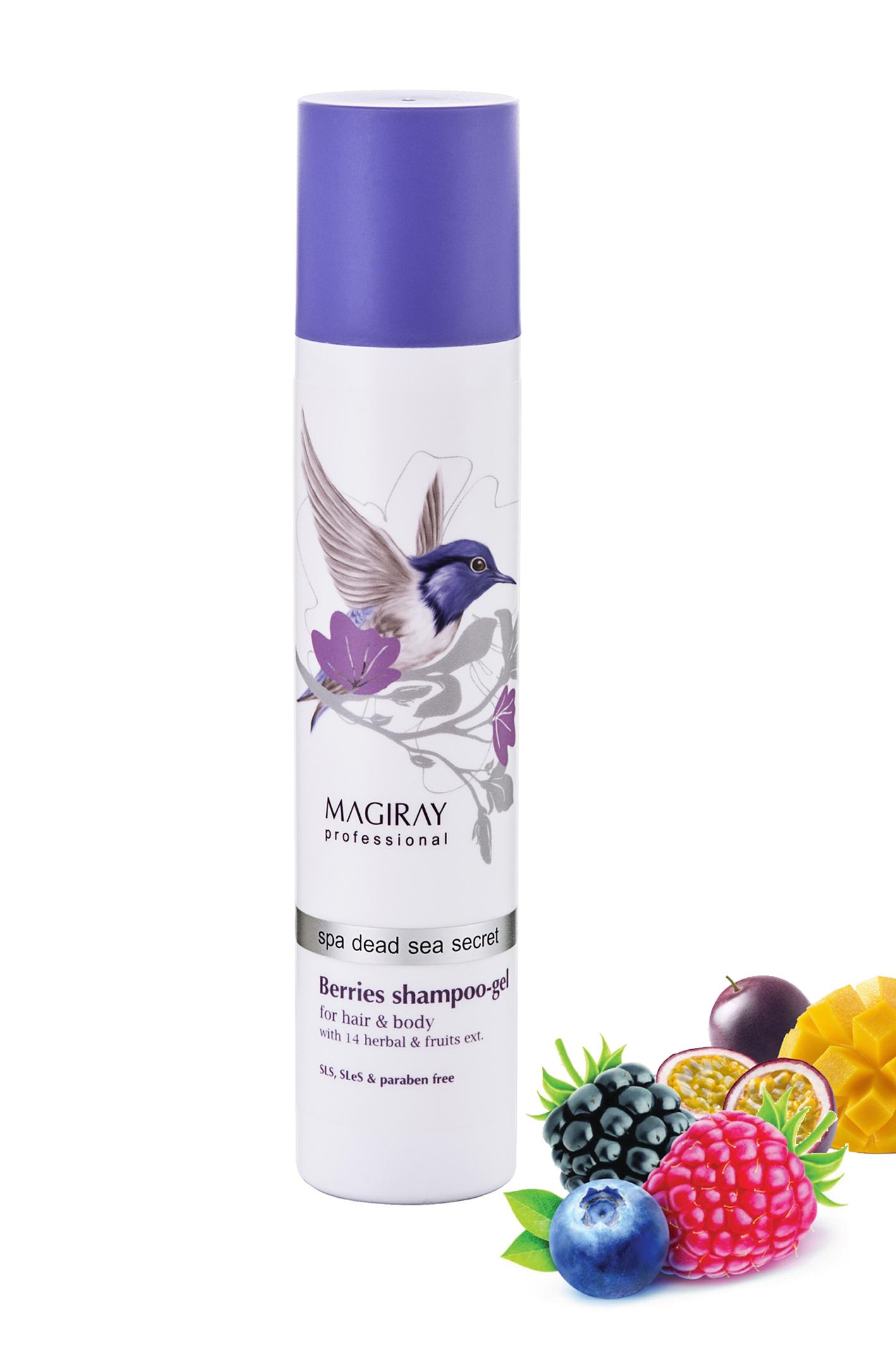 #Beauty_новинка: Ягодный Шампунь-Гель для волос и тела Magiray