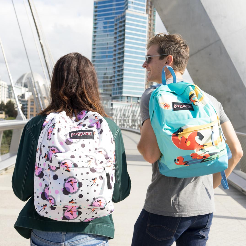 Коллекция рюкзаков Jansport к началу студенческого года