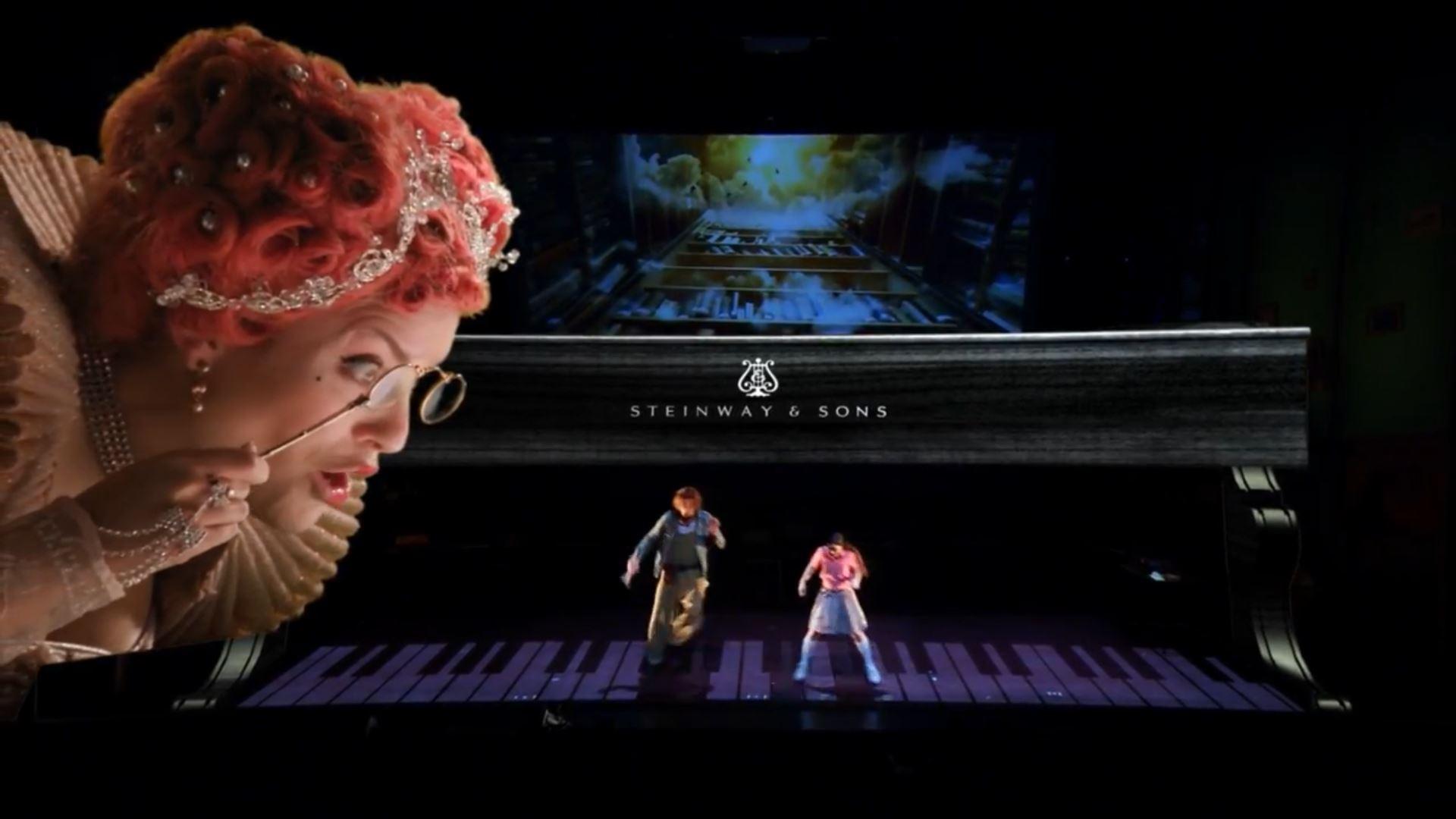 Суккот в Гешере: спектакль для детей «Гулливер» с использованием новейшей технологии Augmented Reality