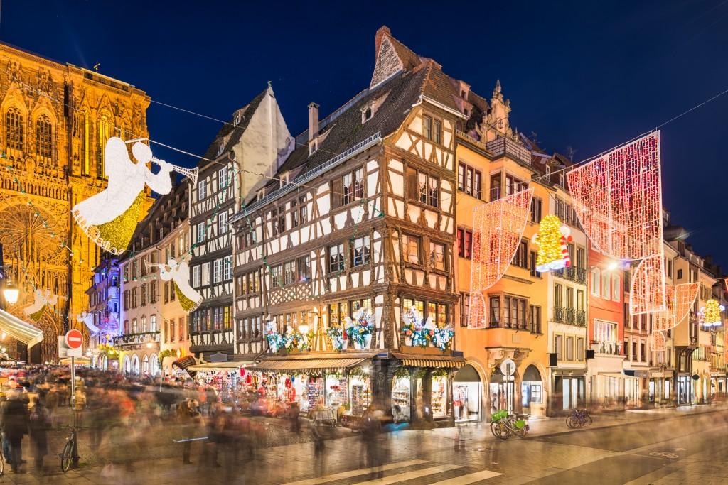 Страсбург или волшебство предновогодней Европы