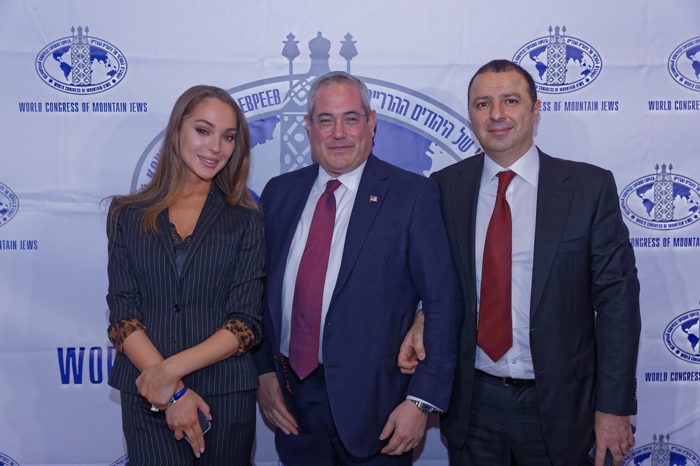 В Нью-Йорке состоялся официальный прием в честь презентации книги «Горские евреи»