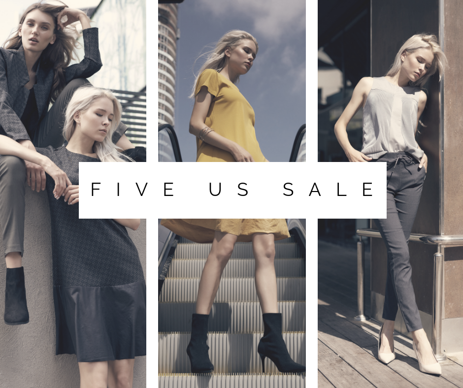 Праздник шопинга в Five Us
