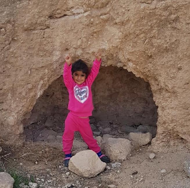 Погибшая арабская малышка спасла двух детей