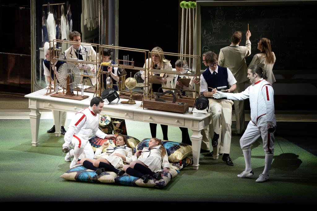 «Così fan tutte» Моцарта и Атома Эгояна