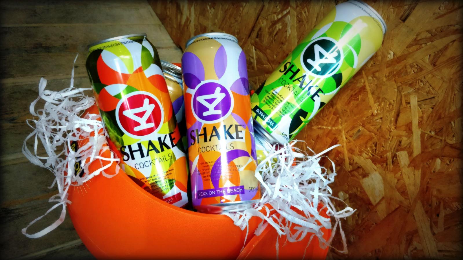 Окунись в лето с Shake Cocktails!