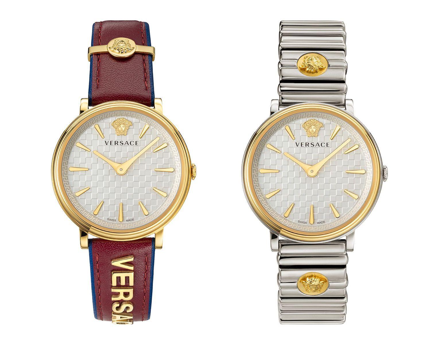 """Новые женские часы Versace V-Circle – уже в """"Бурса ле-тахшитим""""!"""