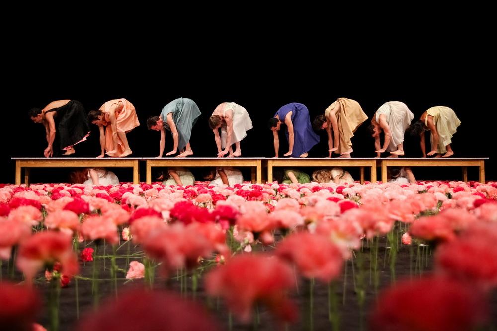 «Гвоздики» Театра танца Пины Бауш в Тель-Авиве