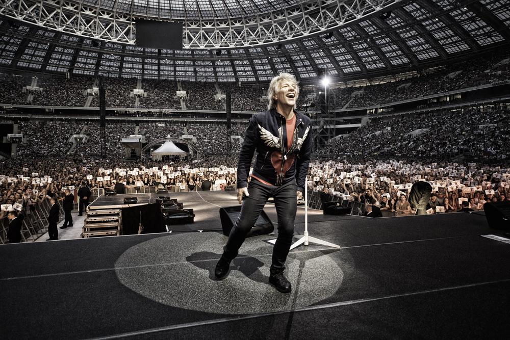 Скоро в Израиле! Легендарная американская рок-группа Bon Jovi