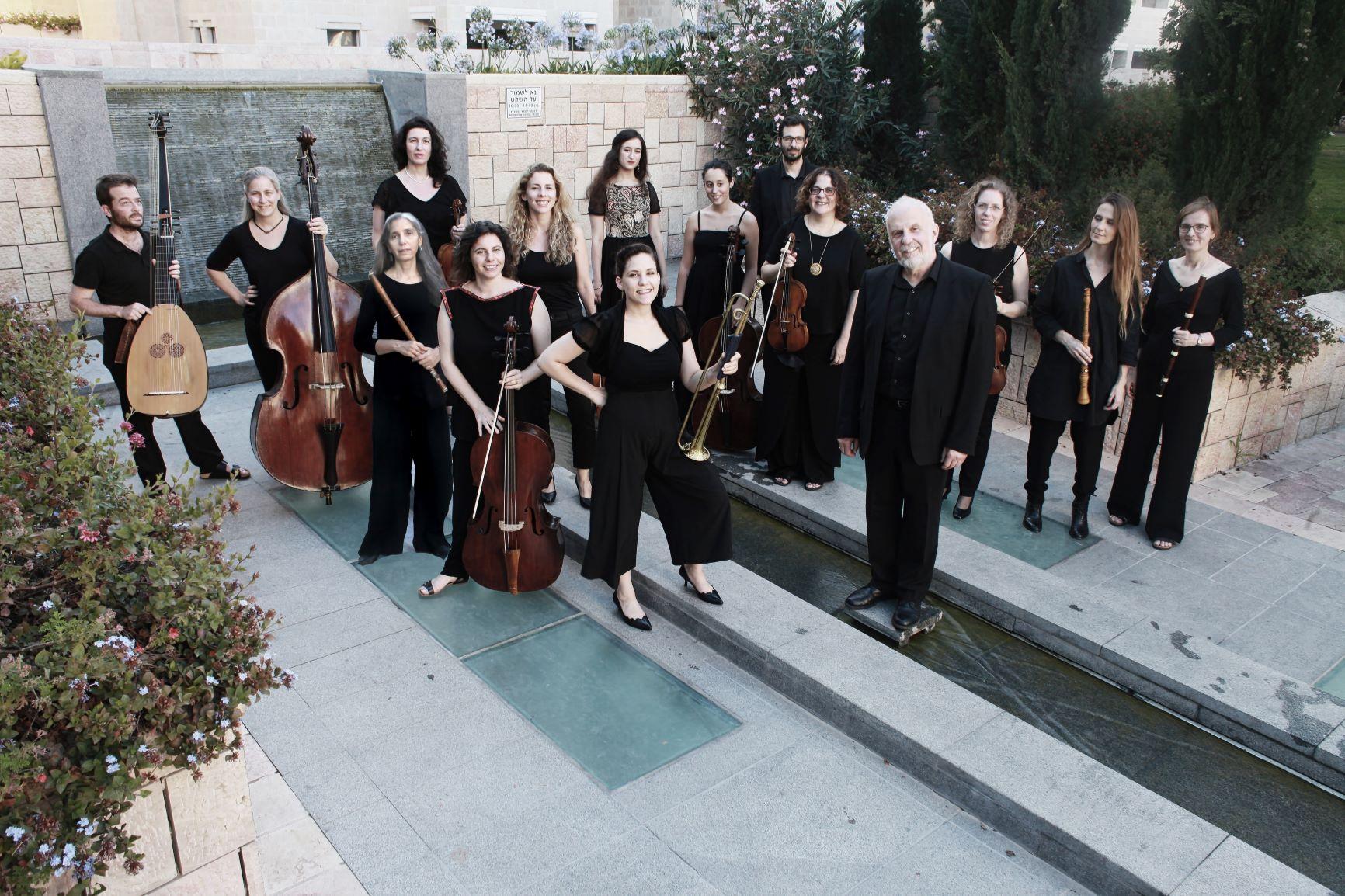 Барочная музыка на иврите. «Вокальные фантазии» – новый фестиваль Иерусалимского оркестра барокко