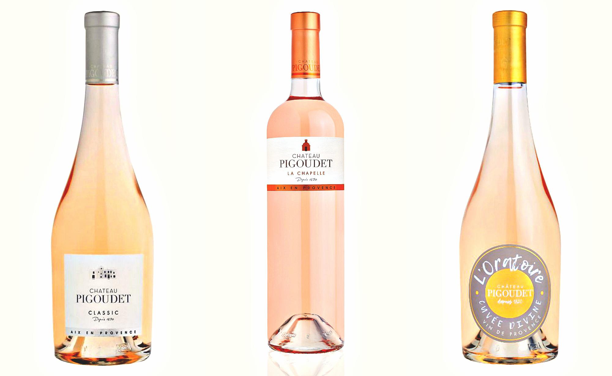 #Алкогольные_новинки: розовые вина Chateau Pigoudet