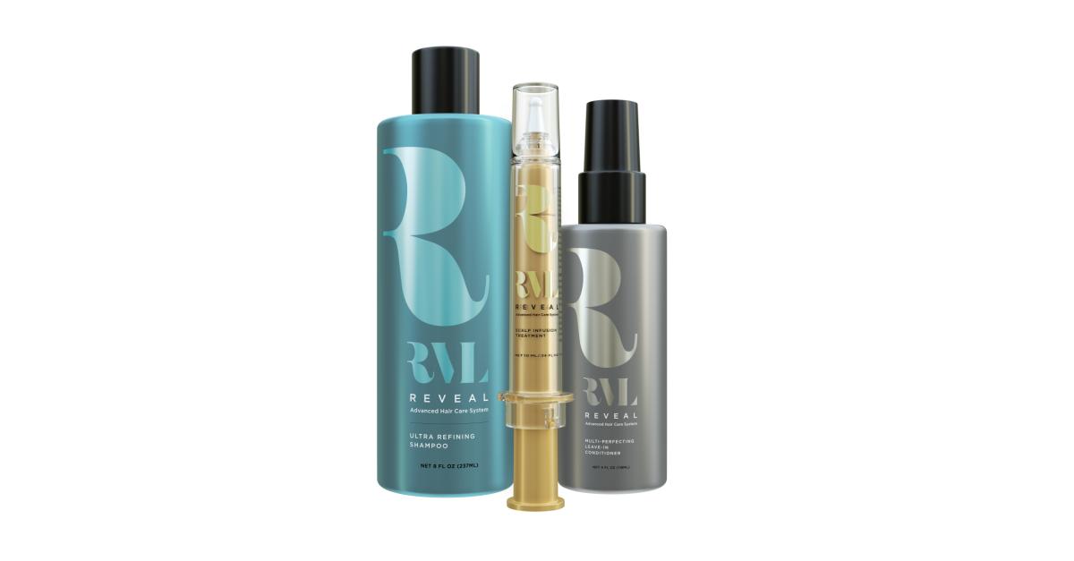 Революционная серия продуктов для восстановления волос RVL-теперь в Израиле!