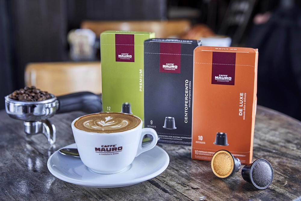 Впервые в Израиле – элитный итальянский кофе MAURO в капсулах